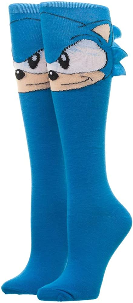 Sonic Sega Sonic Knee High Sock Nouveaut/é Nouvelle Licence Kh37C4Seg