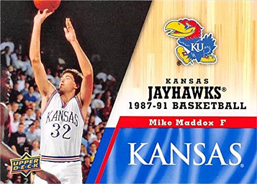 - Mike Maddox Basketball Card (Kansas Jayhawks, 1987-1991) 2013 Upper Deck #50