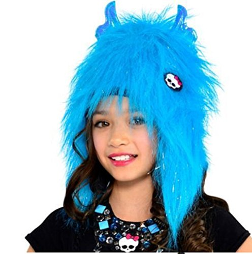 Furry Frankie Monster Costumes (Monster High ~ Furry Winter Hat)
