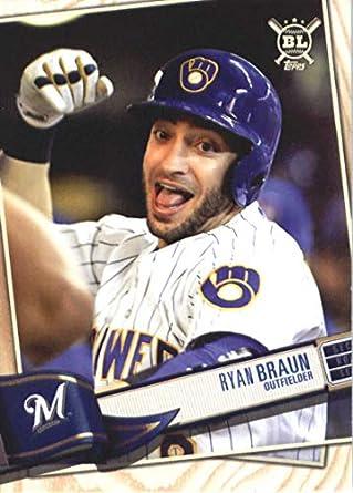 2005 Topps Chrome Update /& Highlights #UH198 Ryan Braun Milwaukee Brewers Rookie
