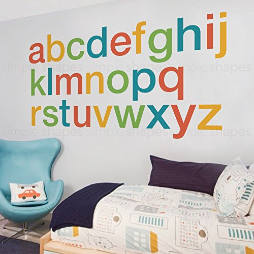 large alphabet decals - 1