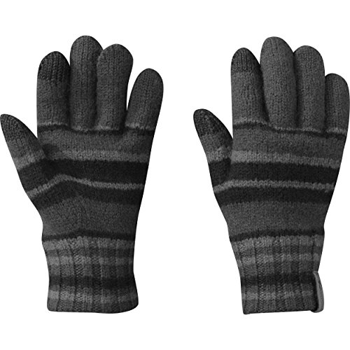 Outdoor Research Women's Conway Sensor Gloves, Black/Charcoal/Pewter, Large