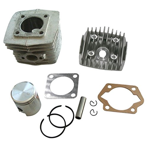 JRL 40mm Cylinder Engine Set Piston And Ring Kit Fit For 50cc Gas Motorized Bicycle Dirt Bike