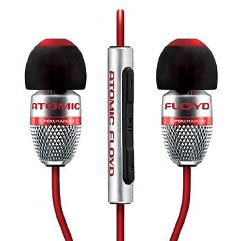 Image of Atomic Floyd SuperDarts +Remote Noise Isolating Hi-Res In-Ear Headphone Earbud Headphones