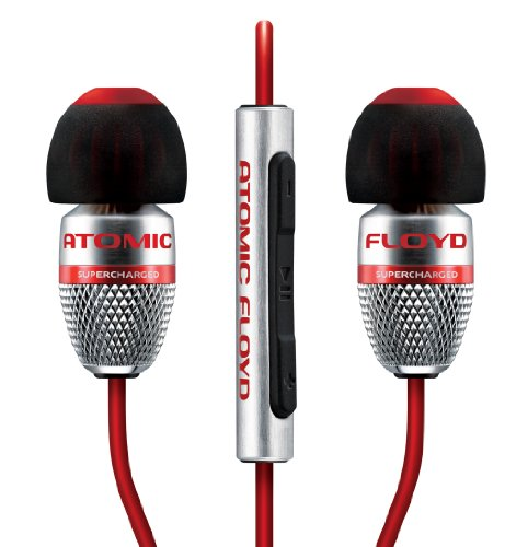 Atomic Floyd SuperDarts +Remote Noise Isolating Hi-Res In-Ear Headphone by Atomic Floyd