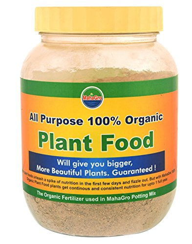 Mahagro all purpose organic natural bio plant fertilizer 1kg grey standard buy online in uae - Organic flower fertilizer homemade solutions ...