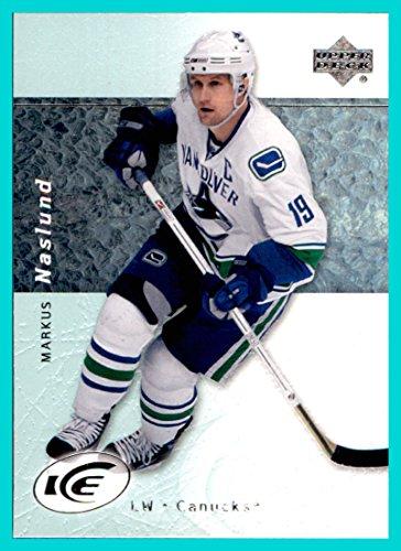 2007-08 Upper Deck Ice #84 Markus Naslund VANCOUVER (08 Upper Deck Ice)