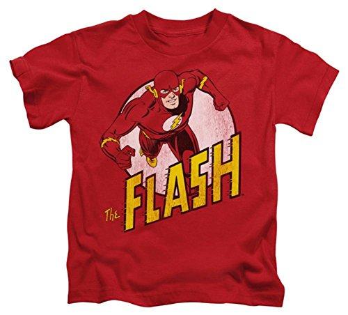 Juvenile: The Flash - The Flash Kids T-Shirt Size 5/6