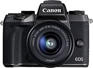 Canon EOS M5 - Cámara sin espejo de 24,2 MP (pantalla táctil de 3 ...