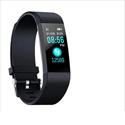 Amazon.com: Fitness Tracker Monitor De Ritmo Cardiaco Reloj ...