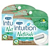 Schick Intuition Naturals Sensitive Care Razor Refill - 12-Count