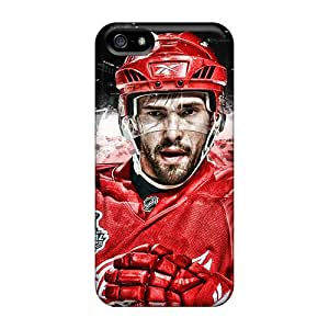 New EFtrw1991pjMno Red Wings Skin Case Cover Shatterproof Case For Iphone 5/5s