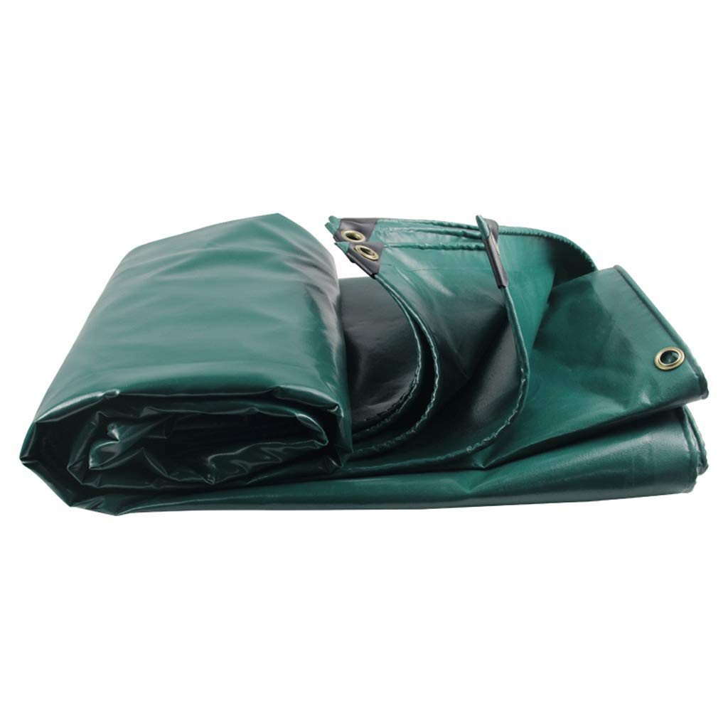 3m5m Rainproof Cloth Thick Canvas Tarpaulin PVC Tarpaulin Truck Canopy (Size   3m5m)