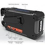Emergency Solar Hand Crank Portable Radio, NOAA