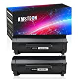 Amstech 2 Packs M11XH 331-9805 8,500 Pages High Yield Compatible Dell M11XH Toner Dell B2360DN Toner for Dell B2360DN B3465DNF B3460DN B2360 Dell 2360 Printer