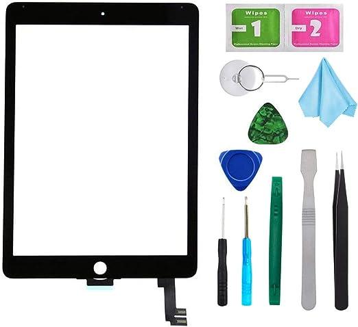 Black New Digitizer Repair Kit for iPad Air 2 9.7
