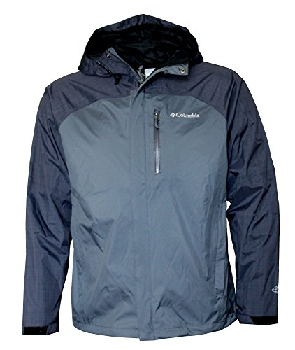 (Columbia Men's Jefferson Park Omni Heat Waterproof Hooded Shell Jacket (M))