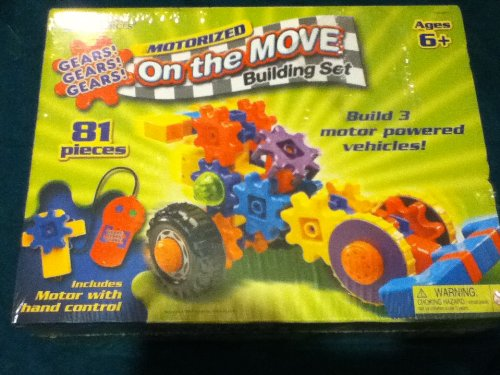 Learning Resources Gears Gears Gears on The Move Building Set by Learning Resources