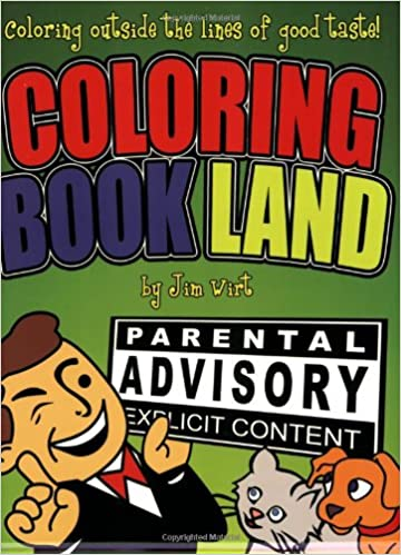 Amazon.com: Coloring Book Land: Coloring Outside the Lines of Good ...