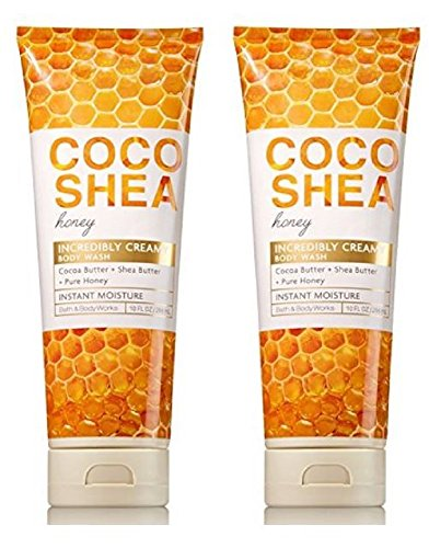 Bath & Body Works Signature Collection Coco Shea Honey Body Wash Bundle of 2