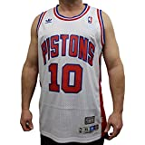 Dennis Rodman Detroit Pistons Adidas NBA Throwback Swingman Jersey - White