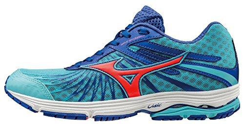 Mizuno Wave Sayonara 4 - Zapatillas de running mujer Azul