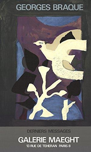 Georges Braque-Affiche #102-1967 Lithograph