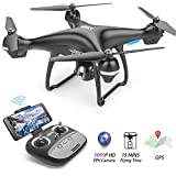 BEEYEO GPS FPV RC Drone with 1080P HD Camera Live Video and GPS Return Home Quadcopter, Follow Me Mode, Altitude Hold, Intelligent Battery Long Control Range
