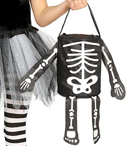Guirca Skeleton Design Halloween Trick Or Teat Party Bag -