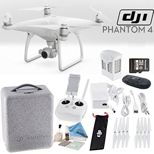 DJI Phantom 4 Quadcopter Starters Bundle