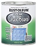 Rust-Oleum 284469 Specialty Chalkboard Paint, 30-Ounce, Clear