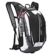 LOCAL LION Cycling Backpack Biking Backpack Running Rucksack Outdoor Sports Daypack for Hiking Camping Men Women 18L
