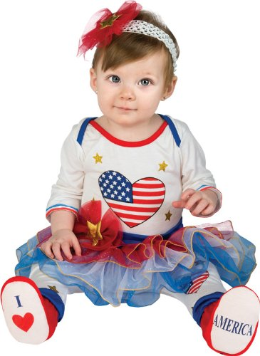 Rubie's Costume Baby's First Halloween Lil Firecracker Tutu Jumper With Leggings Headband and Booties, Multicolor, 0-6 Months