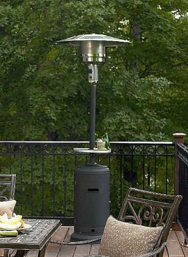 Superieur Amazon.com : AZ Patio Heaters HLDS01 SSBLT Tall Stainless Steel Patio Heater  With Table, 87 Inch, Black : Portable Outdoor Heating : Garden U0026 Outdoor