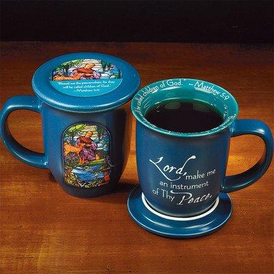 St Francis Coaster Mug
