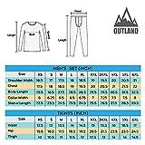 Outland Men's Thermal Set Lightweight Ultra Soft