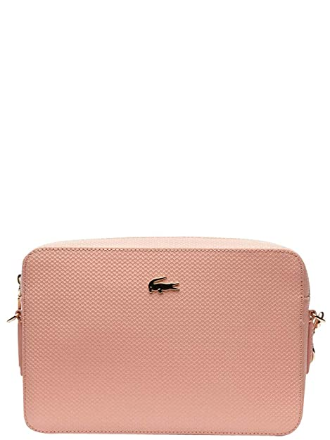 1cf2440d149a16 Lacoste Chantaco Sqaure Crossover Bag Mellow Rose: Amazon.it: Scarpe e borse