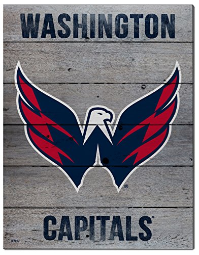 Kh Sports Fan 16 X20  Washington Capitals Road To Victory Nhl Pallet Pride Plaque