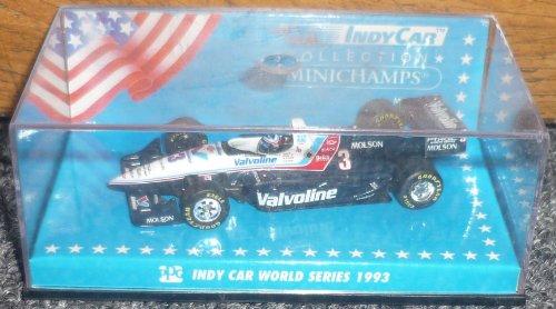 Minichamps Indy Car 1993 Series Al Unser Jr. Valvoline #3 1/64 Metal (Car Indy Minichamps)