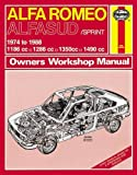 Alfa Romeo Alfasud/Sprint 1974-88 Owner's Workshop Manual (Service & repair manuals)