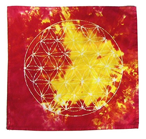 Crystal Grid Cloth · Flower of Life · Grid Cloth · Sacred Geometry by SacredBatik