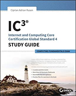 ic3 internet and computing core certification computing rh amazon com IC3 Exams Key Applications IC3 Living Online