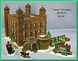 Dicken's Village ''Tower Of London'' Porcelain Building Dept.56