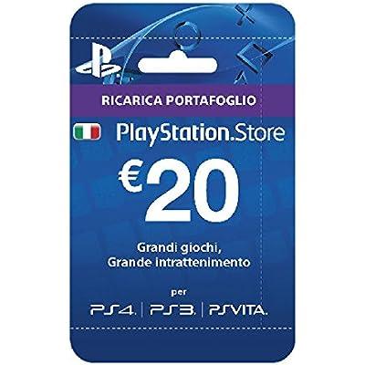 Sony Psn Hanging Card 20 Euro