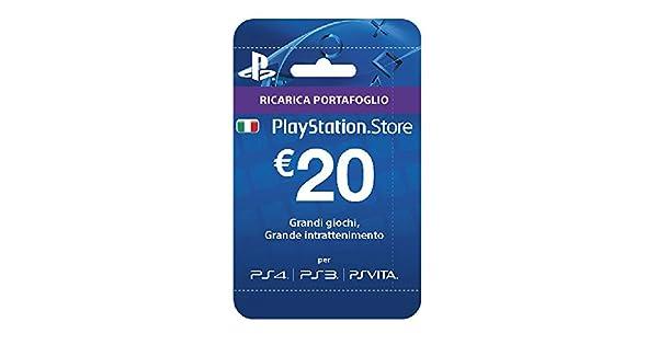 Sony Psn Hanging Card 20 Euro: Amazon.es: Videojuegos