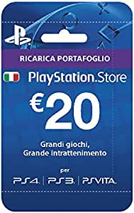 Sony Psn Hanging Card 20 Euro: Amazon.es: Videojuegos