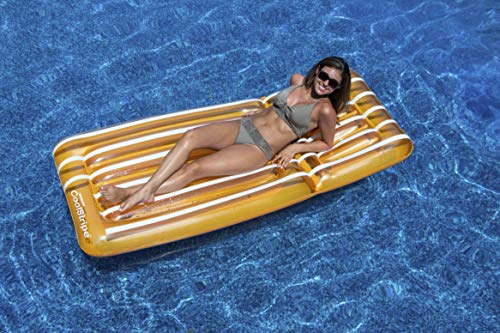 Swimline Cool Stripe Mattress Pool Float -