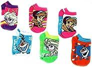 Frozen Anna Elsa Olaf Girls Teen Adult 6 pack Socks
