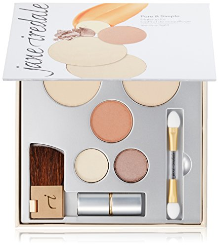 jane iredale Pure & Simple Makeup Kit, Medium Light.40 oz.