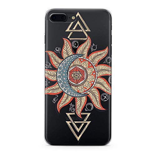 Lex Altern TPU Case for iPhone Apple Xs Max Xr 10 X 8+ 7 6s 6 SE 5s 5 Boho Tribal Phone Bohemian Slim fit Flower Gift Lightweight Cover Totem Smooth Print Colorful Design Clear Flexible Soft Mandala